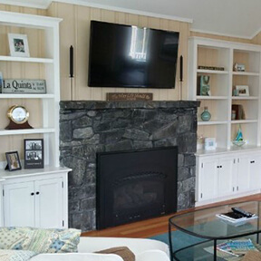 Family Room Design After